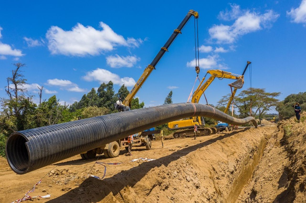 Megapipes Solutions Limited provides jobs and solves stormwater, sanitation and water storage issues in Kenya